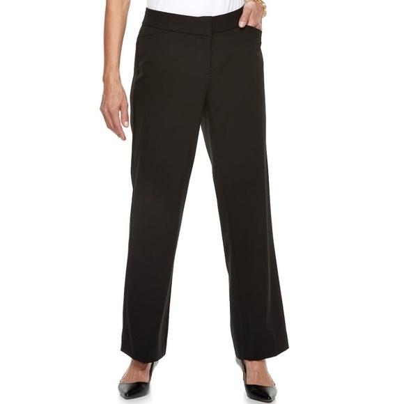 Dana Buchman Pants - Women's Dana Buchman Midrise Curvy Fit Dress Pants